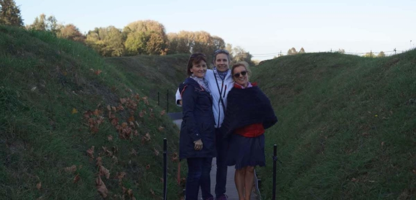 french immersion students somme battlefields