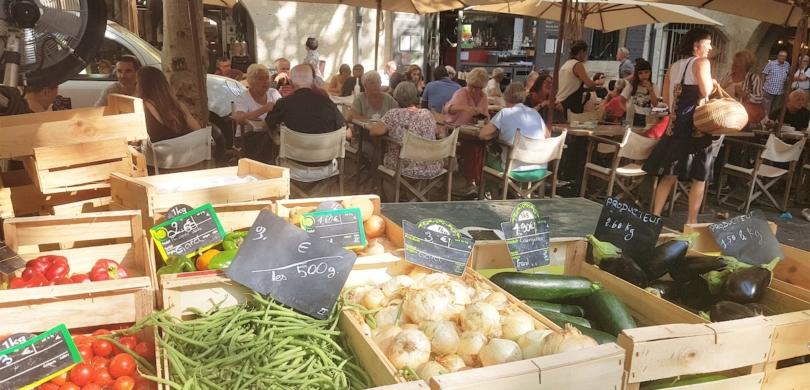 uzès provence market