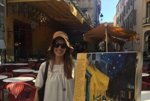 Van Gogh's Café Le Soir in Arles