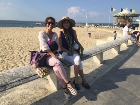 arcachon sea learn french