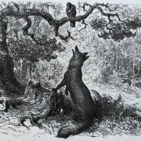 """Le Corbeau et le Renard"" – La Fontaine – French poem reading with Explanation & Analysis"