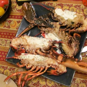 BBQ Lobster with Piment d'Espelette & Armagnac Recipe