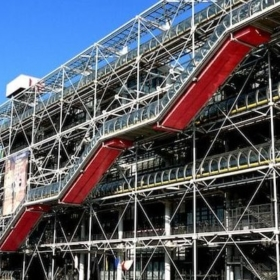Easy French Practice: Paris Pompidou (With Audio)
