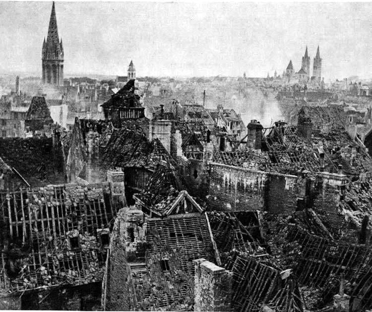 WW2 France Rouen Original Story