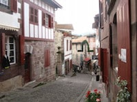 Basque country french immersion program stay at your - Places to stay in st jean pied de port ...