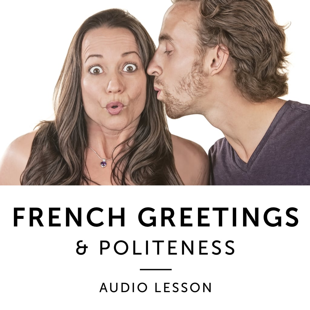 Product image: French Greetings & Politeness French Audiobook