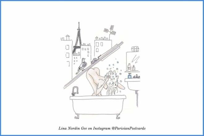 french bathtub shower