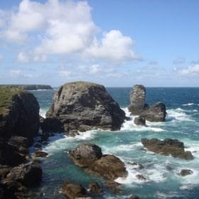 La Pointe des Poulains à Belle-Ile
