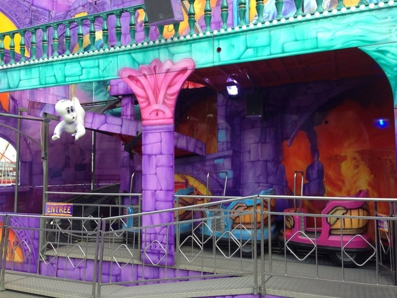 haunted house fair fête foraine