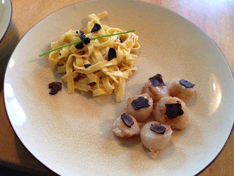 Scallops with Truffle Recipe Photo