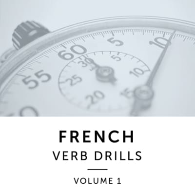 Product image: French Verb Drills Volume 1