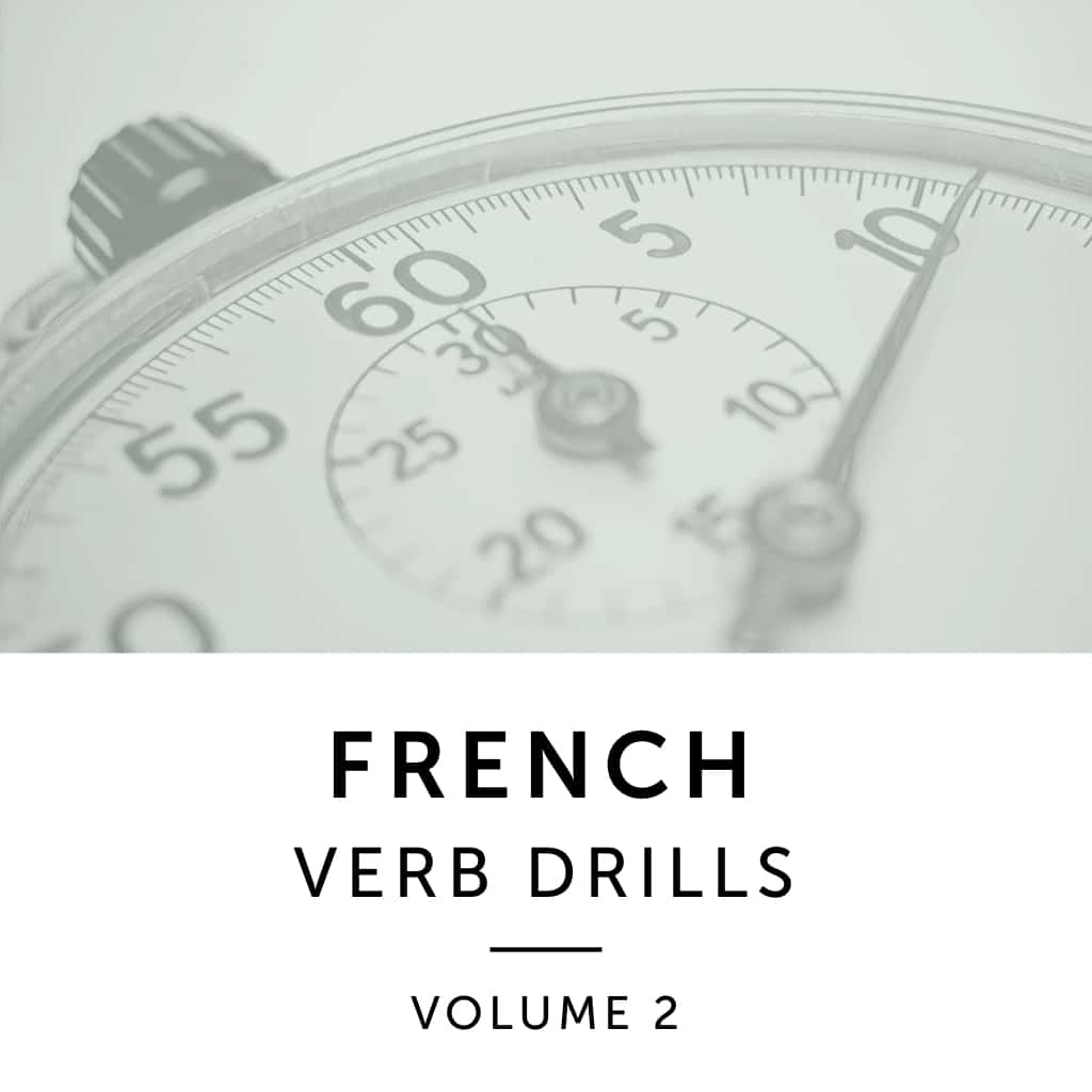 Product image: French Verb Drills Volume 2