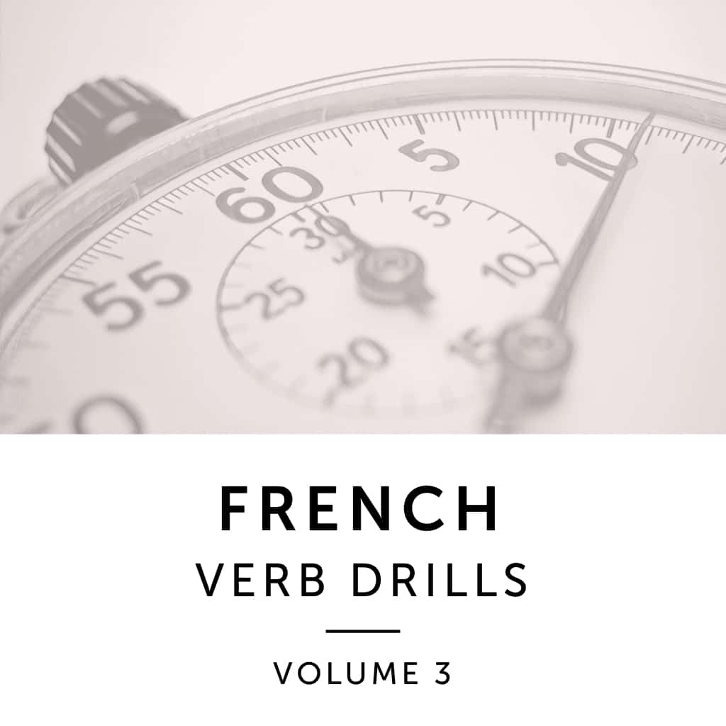 Product Image: French Verb Drills Volume 3
