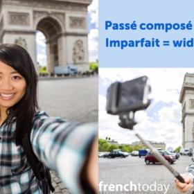 Passé Composé Versus Imparfait + Video