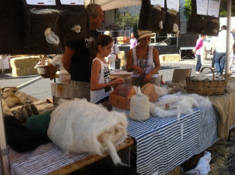 le feutrage de la laine
