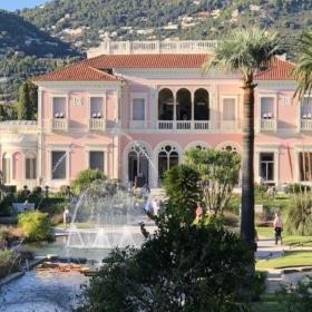 Visite de la Villa Ephrussi de Rothschild à côté de Nice