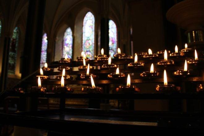 Catholic Mass French Audio recording reading prayers