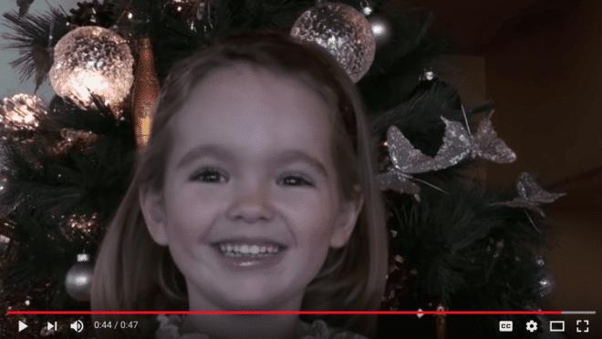 petit papa noel sung by french girl video lyrics translation