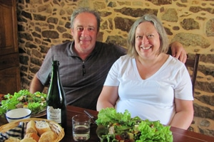 Joanne & Charlie residential french immersion teacher in france brittany