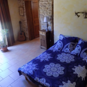 student bedroom - french immersion in france at teacher's