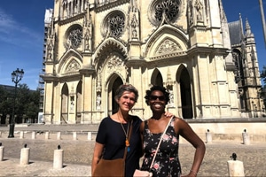 Teena residential homestay france french teacher 1