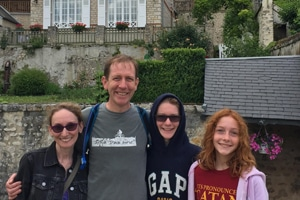 residential french immersion homestay France