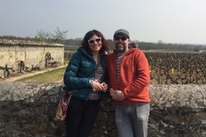 paul and Kate - french immersion residential homestay in france