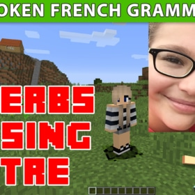 Learn French With Minecraft – Passé Composé – Video