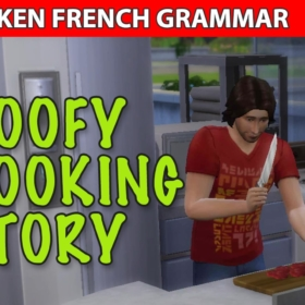Learn French Cooking Vocabulary With The Sims – Video
