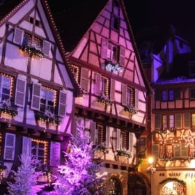 French Electrical Vocabulary + Christmas Lights in Dinan