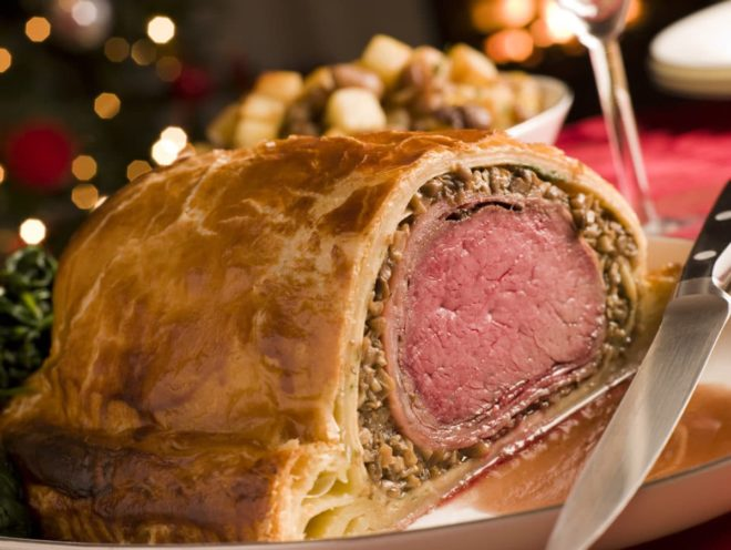 French Christmas dishes in France