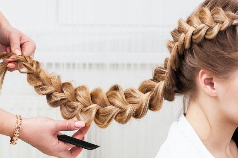 Amazing French braid