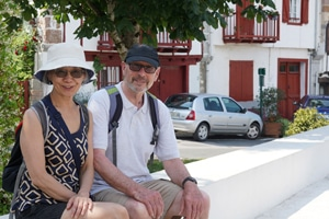 Roger & Brenda learn french immersion france