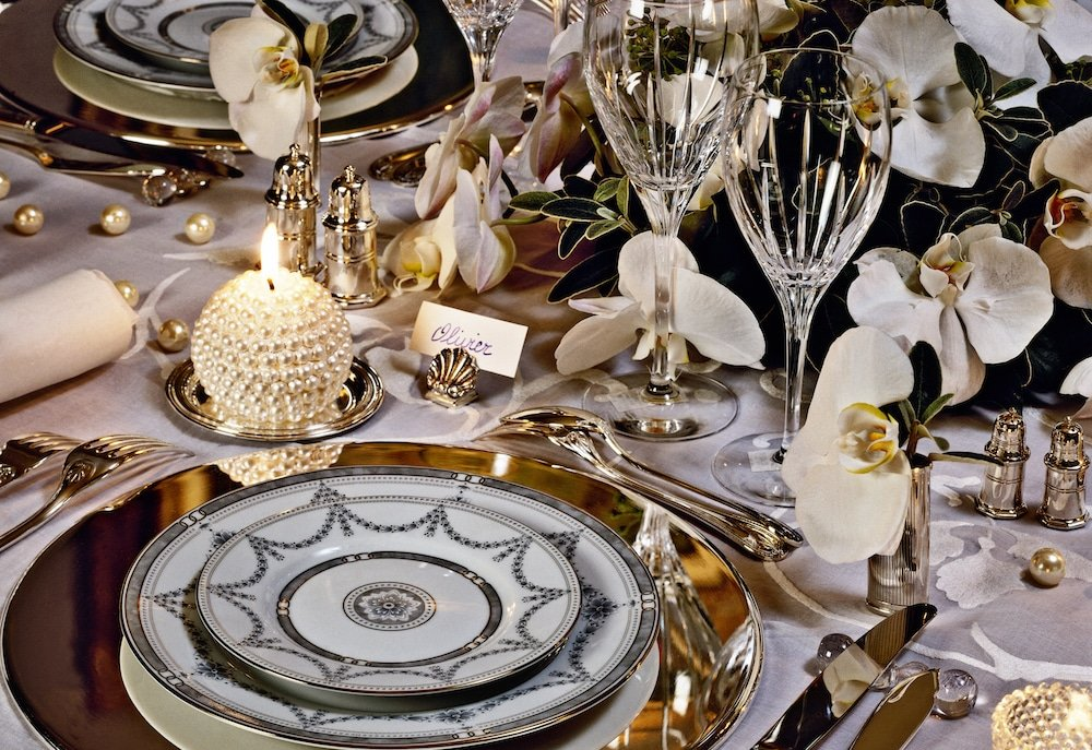 christmas table in france