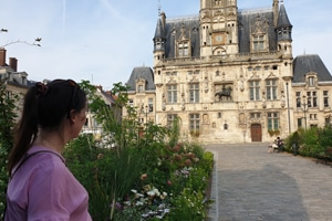 Lesley residential immersion teacher france french 1