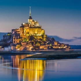 Bilingual Visit of the Mont Saint Michel + French Coastline Vocabulary