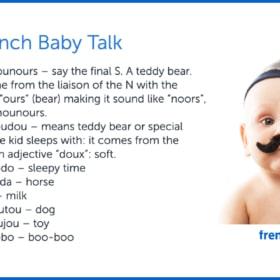 👶 French Baby Talk