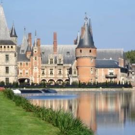 Maintenon Castle + Royalty French Vocabulary
