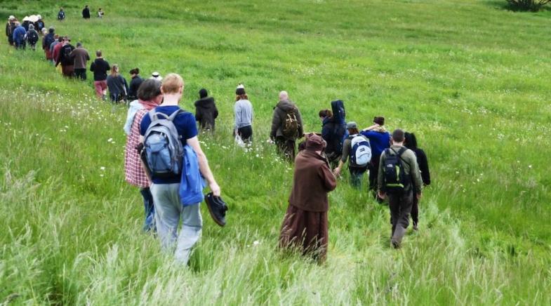 hike buddha france