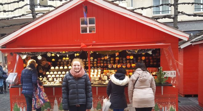christmas immersion in France