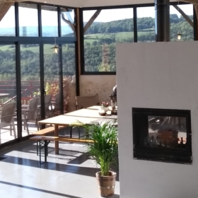 living room - learn french in immersion france pyrénées mountains