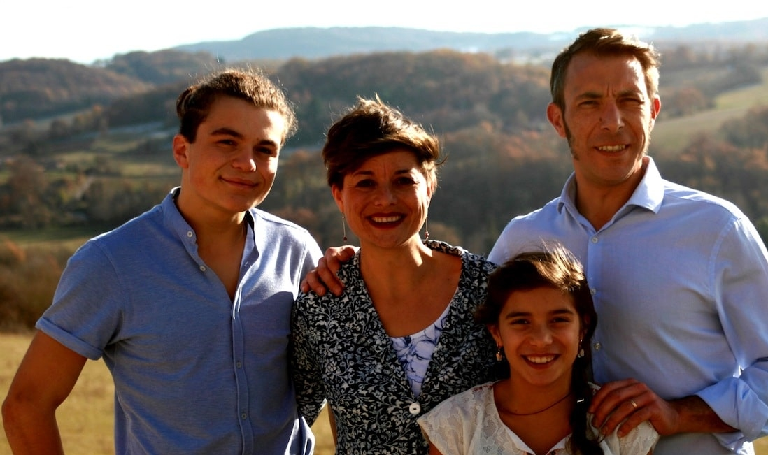 teacher family - learn french in immersion france pyrénées mountains