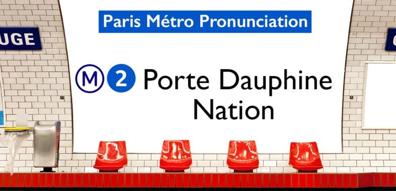 Paris Métro Line 2 Stations Pronunciation