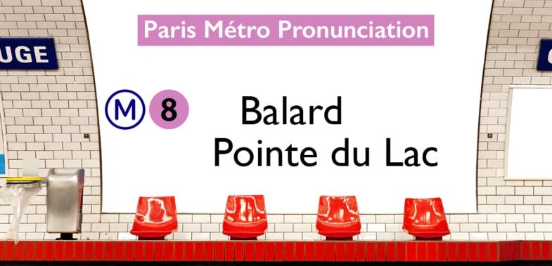 Paris Métro Line 8 Stations Pronunciation