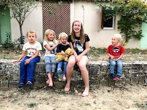 french immersion typical family provence