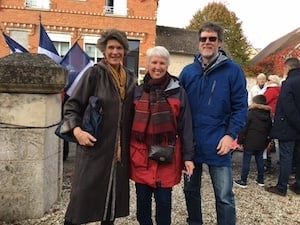 WW1 memorial immersion france