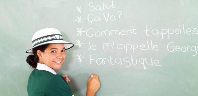 french class translation