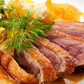 🍊 Orange Duck French Recipe + Translation