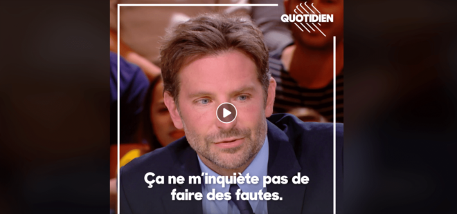 Learn French Bradley Cooper