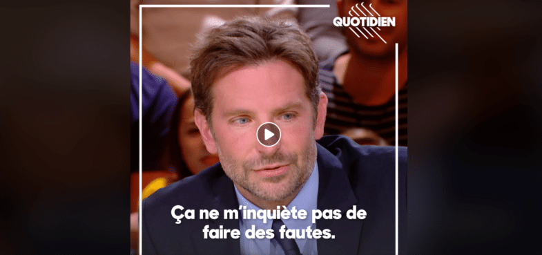 Learn French Bradley Cooper